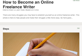 Become an Online Freelance Writer