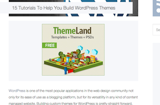 Build WordPress Themes